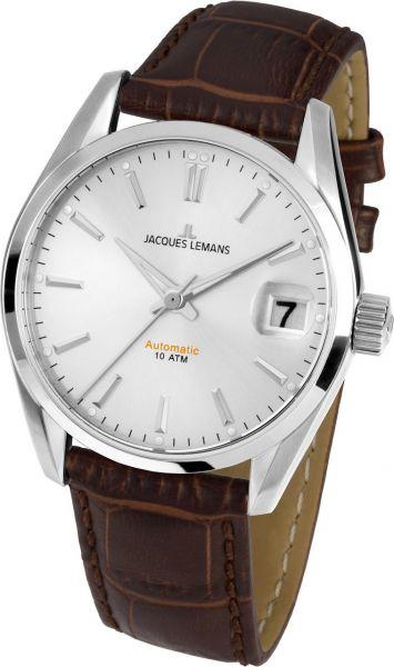 Jacques Lemans Damen-Armbanduhr Derby Automatic 1-1912B