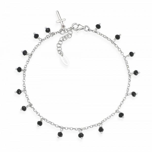 AMEN Armband 22 + 3 cm Silber CACRBN