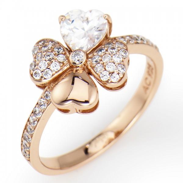 AMEN Ring Silber Herz Gr. 56 RQURB-16
