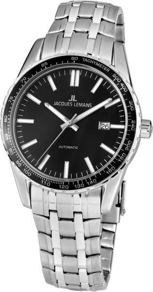 Jacques Lemans Herren-Armbanduhr Liverpool Automatic 1-2075