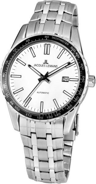 Jacques Lemans Herren-Armbanduhr Liverpool Automatic 1-2075E