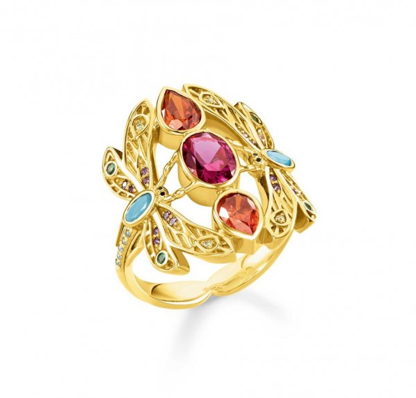 Thomas Sabo Ring Größe 60 TR2228-471-7-60
