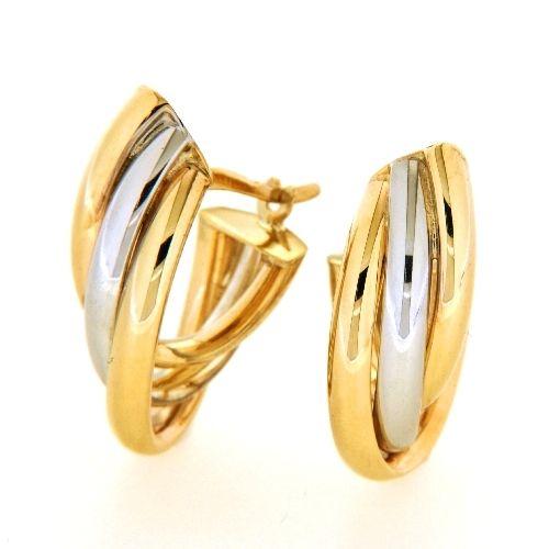 Creolen Gold 333 bicolor