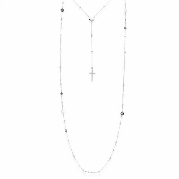 AMEN Kette 45 + 3 cm Silber CL2PB