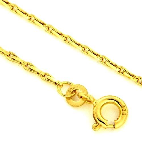 Haferkornkette (HK50) Gold 333 42 cm