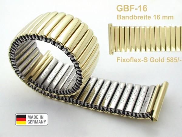 Claude Pascal Uhrarmband Gold 585 GBF-16