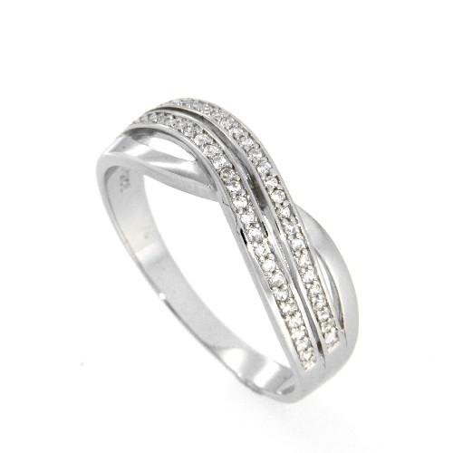 Ring Silber 925 rhodiniert Weite 66