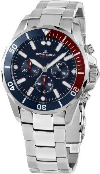 Jacques Lemans Herren-Armbanduhr Liverpool 1-2091G