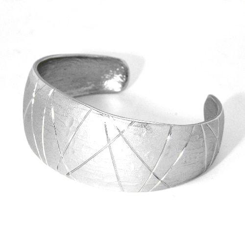 Armspange Silber 925 rhodiniert