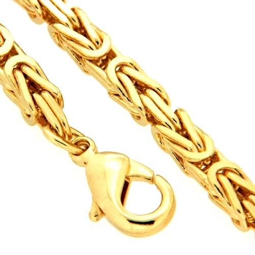 Armband Königskette Am. Doublé 19 cm