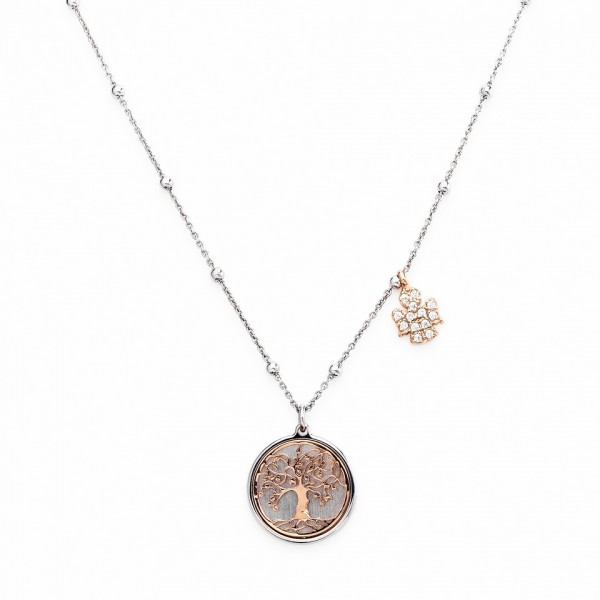 AMEN Kette 40 + 4 cm Silber CLAL