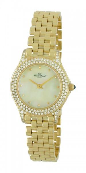 Claude Pascal Armbanduhr Damen Gold 585 2944168 PGP
