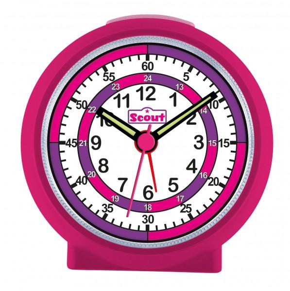 SCOUT Wecker pink LearnTheTime 280001015