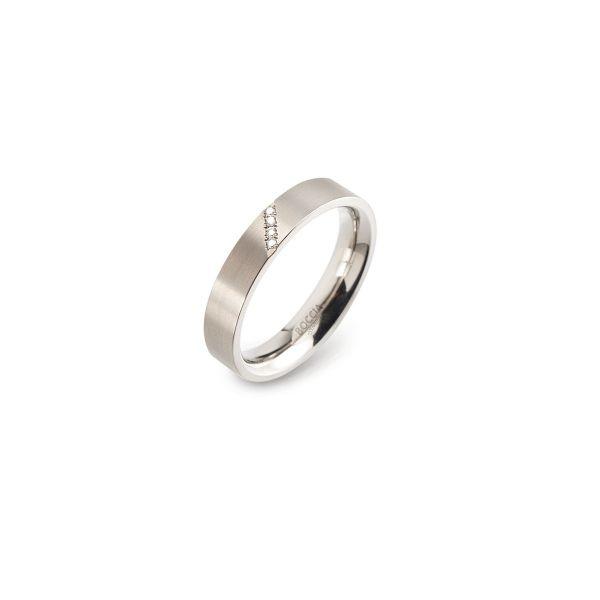 Boccia Titanium Ring 0121-0748 Größe 48