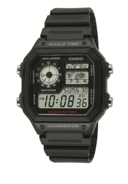 CASIO Armbanduhr CASIO Collection Men AE-1200WH-1AVEF