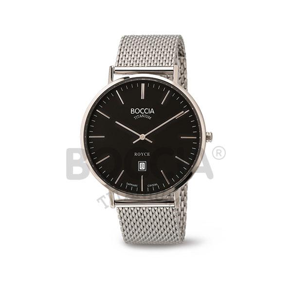 Boccia Titanium Royce Herren Armbanduhr 3589-07