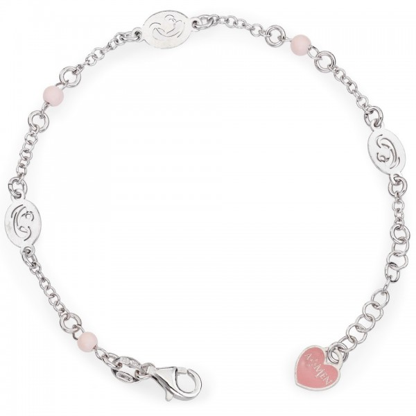 AMEN Armband 15 + 2 cm Silber BRMR
