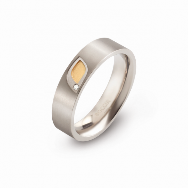 Boccia Titanium Ring 0146-0148 Größe 48