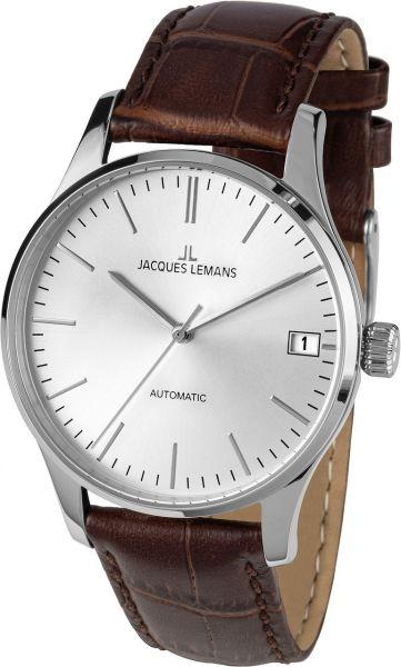 Jacques Lemans Damen-Armbanduhr London Automatic 1-2074B