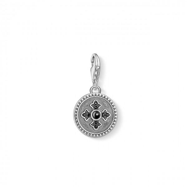 Thomas Sabo Charm-Anhänger Coin Royalty Kreuz 1704-641-11