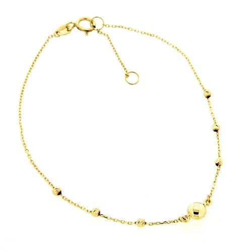 Armband Gold 333 19 cm-17 cm