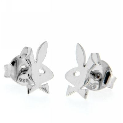 Ohrstecker Silber 925 rhodiniert Bunny