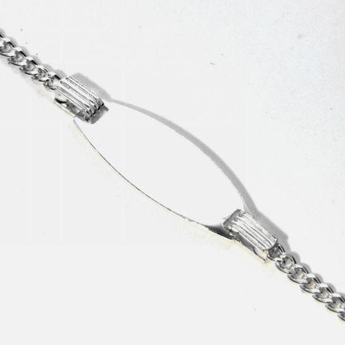 Identitäts-Armband Silber 925 16-14 cm