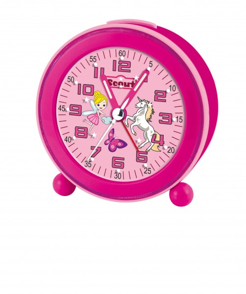 SCOUT Wecker pink NightLight 280001008