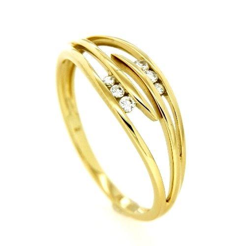 Ring Gold 333 Weite 60 Zirkonia