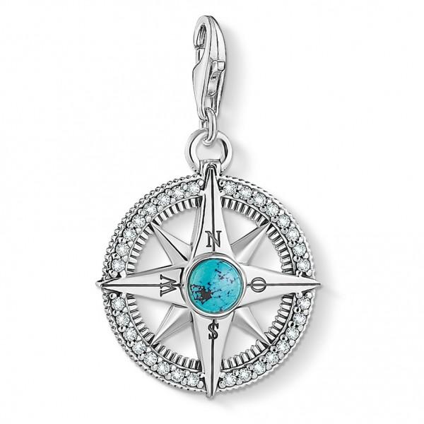 Thomas Sabo Charm-Anhänger Kompass 1773-646-17
