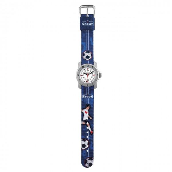 SCOUT Armbanduhr blau Action Boys 280376004