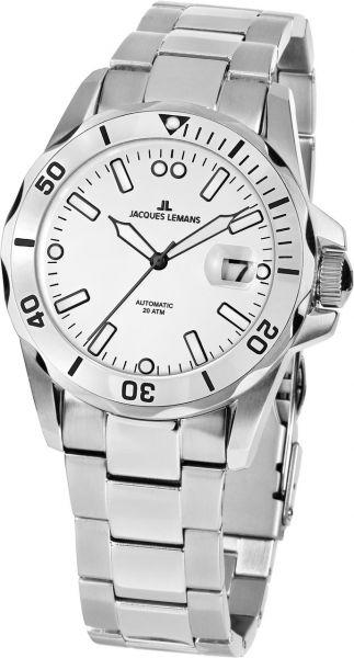 Jacques Lemans Herren-Armbanduhr Liverpool Diver Automatik 1-2089F