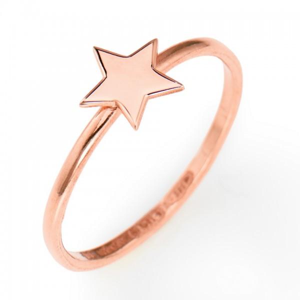 AMEN Ring Silber Stern Gr. 58 ASR-18