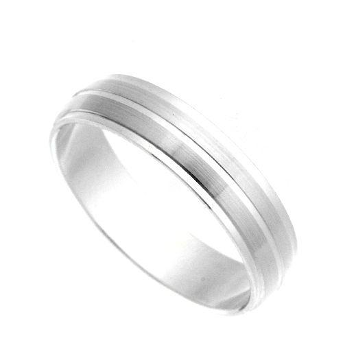 Freundschaftsring Silber 925 Breite 5 mm Weite 66