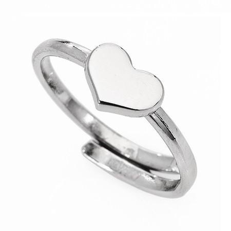 AMEN Ring Silber Herz AFHB