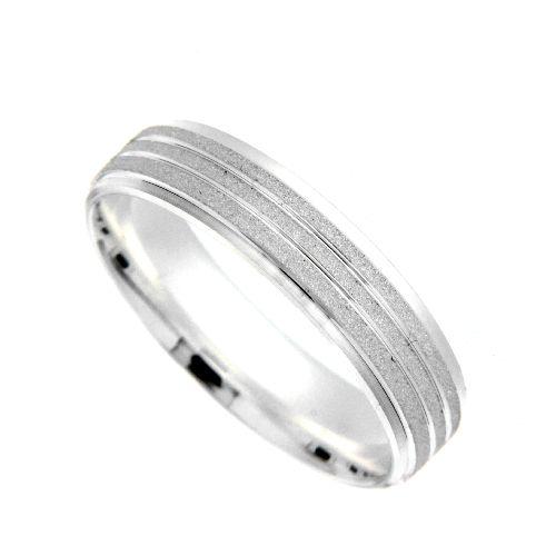 Freundschaftsring Silber 925 Breite 5 mm Weite 69