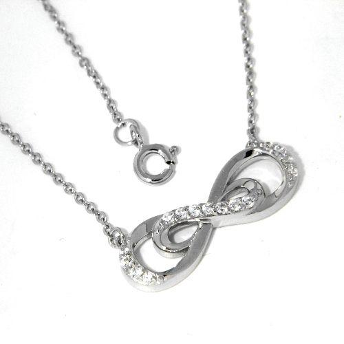 Collier Silber 925 rhodiniert 42+3 cm