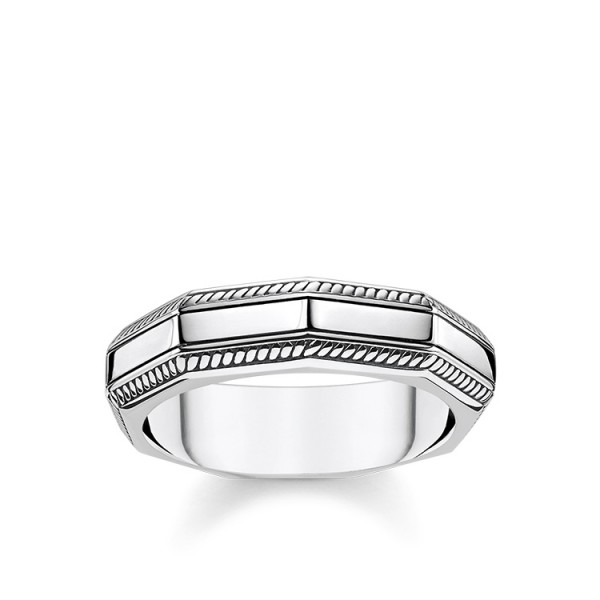 Thomas Sabo Ring eckig Größe 60 TR2276-637-21-60