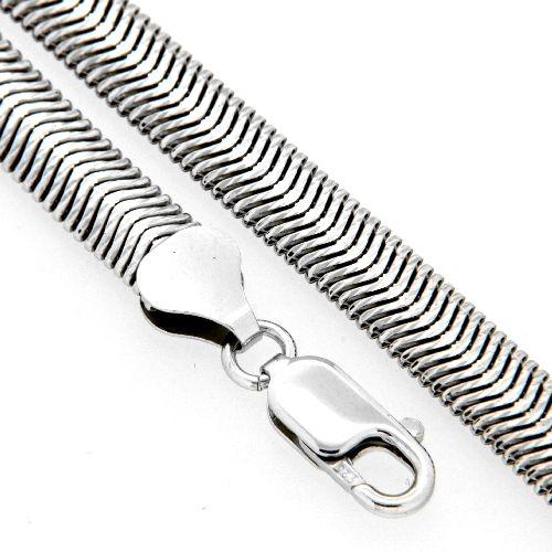 Armband Silber 925 rhodiniert 21 cm