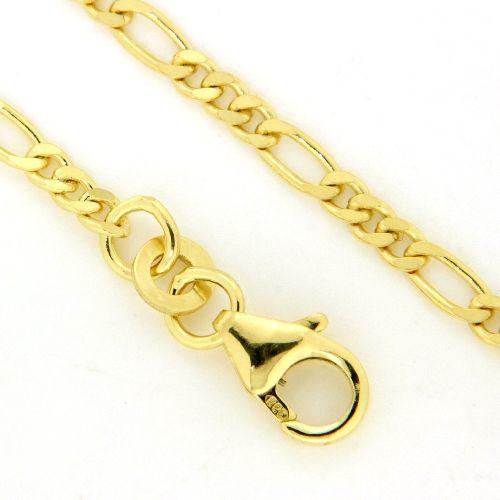 Fußkette Gold 333 25-23 cm