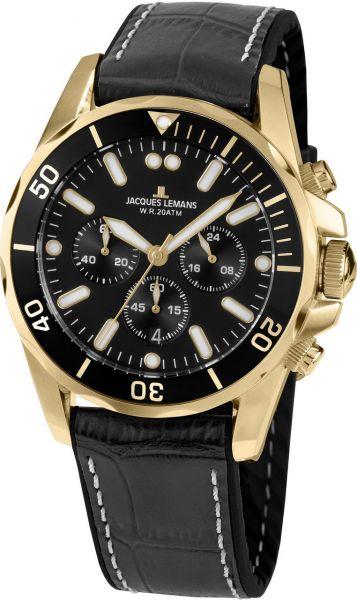 Jacques Lemans Herren-Armbanduhr Liverpool 1-2091E