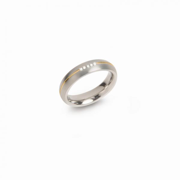 Boccia Titanium Ring 0130-0463 Größe 63