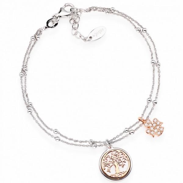 AMEN Armband 17 + 2 cm Silber BR2AL