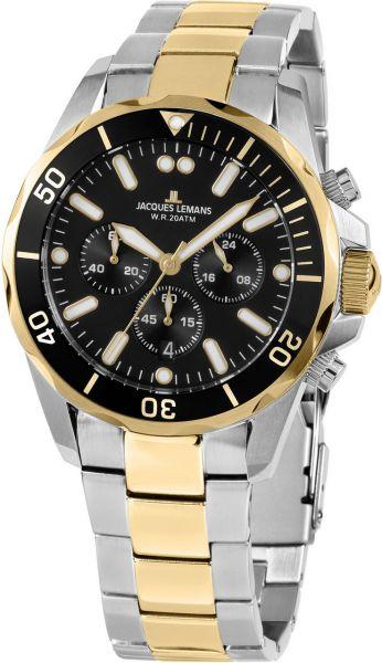 Jacques Lemans Herren-Armbanduhr Liverpool 1-2091I