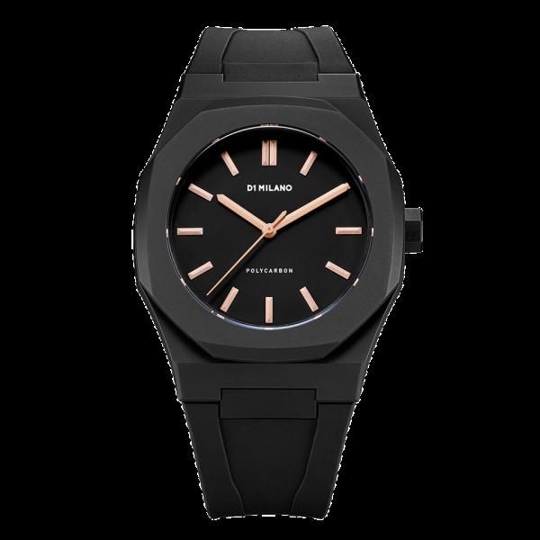 D1 Milano Armbanduhr Polycarbon Quarz PCRJ03