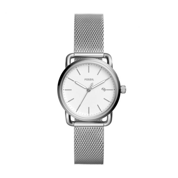 Fossil Armbanduhr THE COMMUTER 3H DATE ES4331
