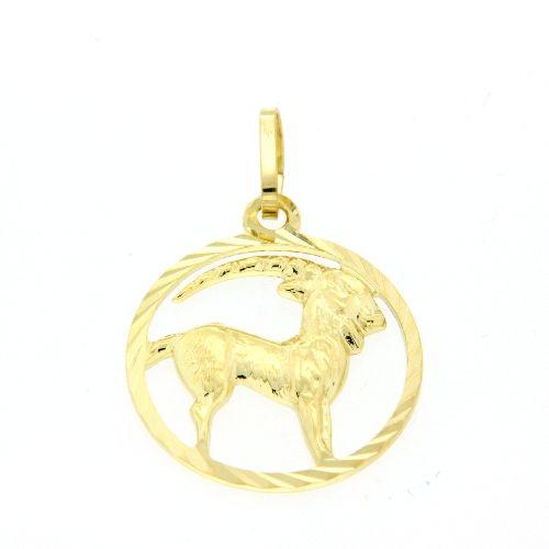 Tierkreiszeichen Gold 333 Steinbock