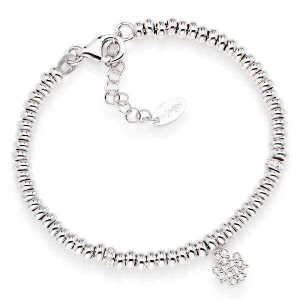 AMEN Armband 16 + 3 cm Silber POAB