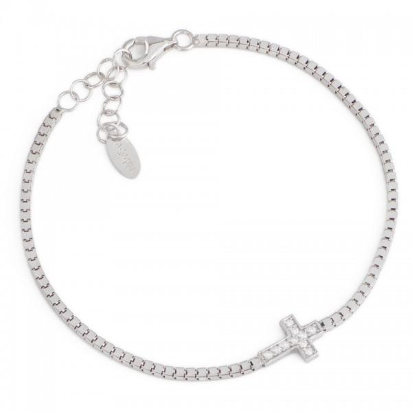 AMEN Armband 16 + 3 cm Silber BCRB