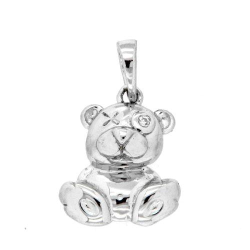 Anhänger Silber 925 rhodiniert Teddybär